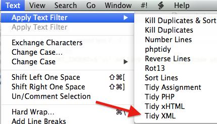 text-filter